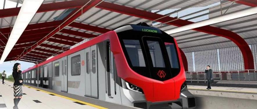 trial run of lucknow metro on 1 december