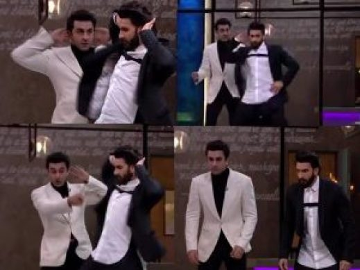 ranbir kapoor danced like katrina kaif in koffee with karan 5