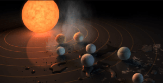 new solar system found by nasa with seven earth sized planets