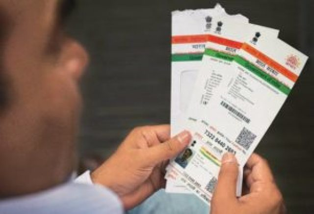 now you will need aadhar card for booking rail ticket