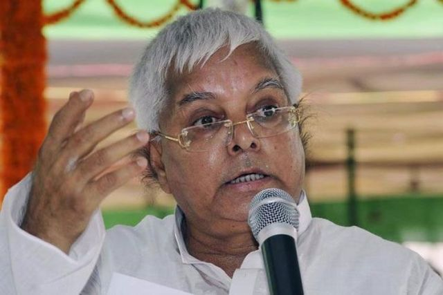 lalu yadav said something about bjp and yogi which is now true