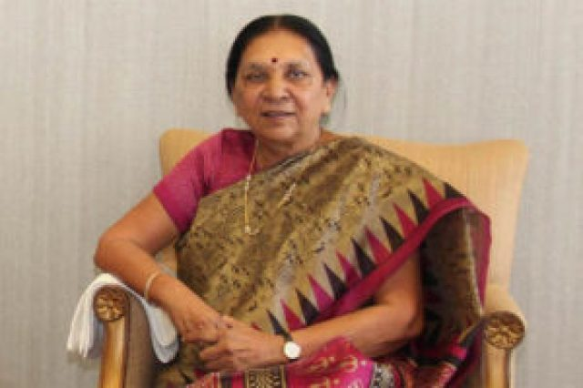 former chief minister of gujarat anandiben patel refused to contest the elections