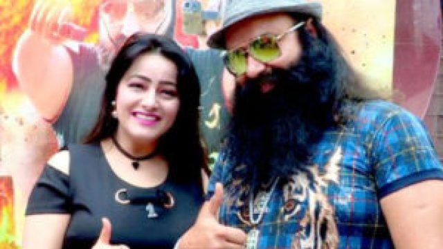 honeypreet surrenders in front of police in panchkula