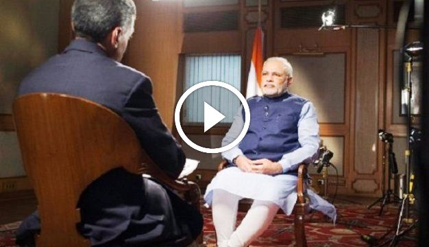 narendra modi becomes speechless in front of ndtv reporter