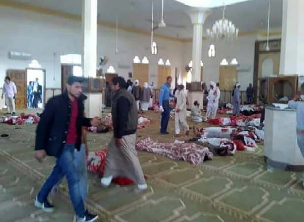 Image result for attack on sinai mosque