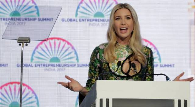 Image result for ivanka trump visit to india
