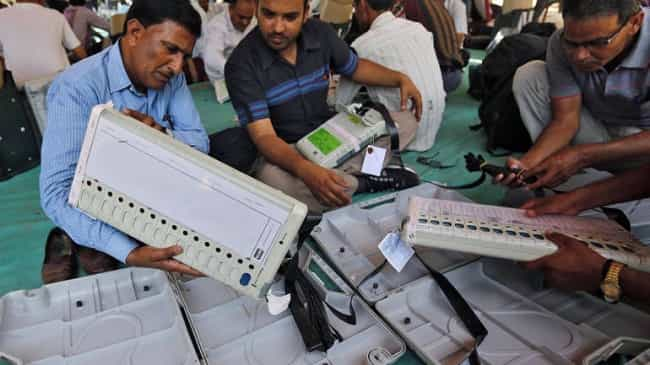 tampering in evm machines kanpur