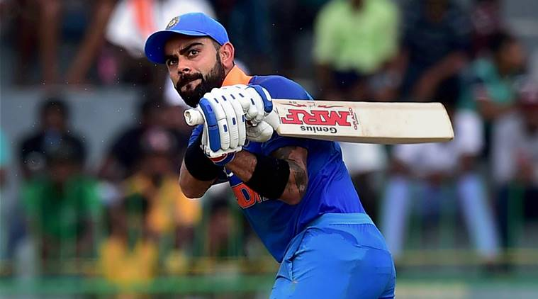virat kohli out on zero