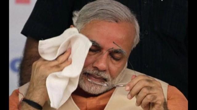 Image result for narendra modi sad