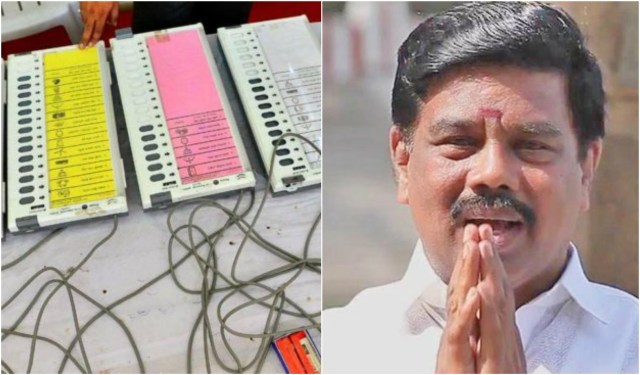 bjp leader claimed tampering in evm machine ईवीएम मशीन