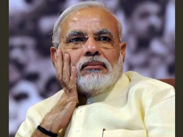 narendra modi frightened