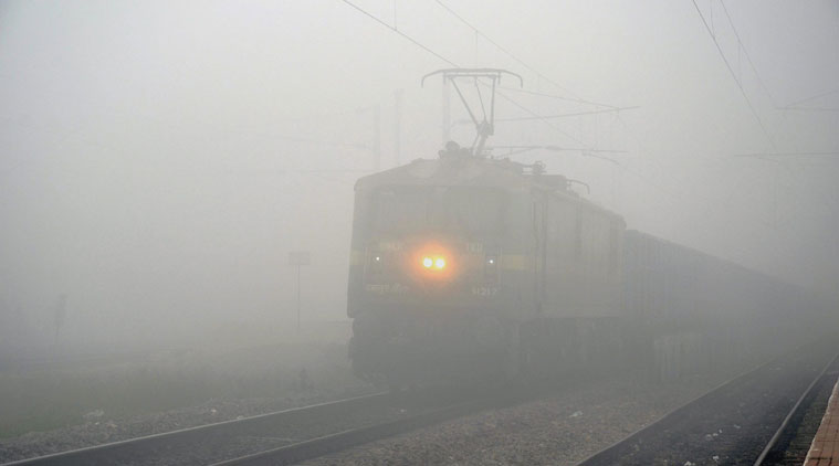 fog effect Indian railways