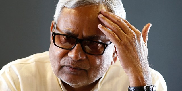 Image result for nitish kumar sad