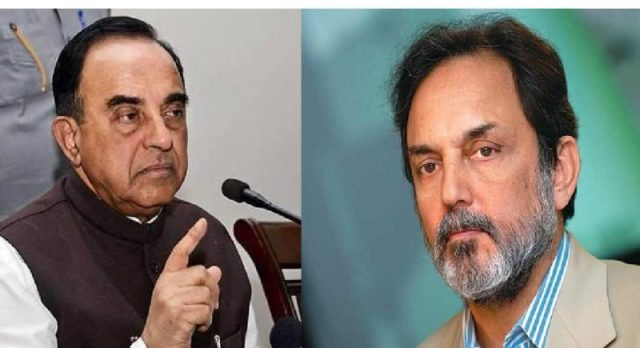 Image result for prannoy roy and subramanian swamy