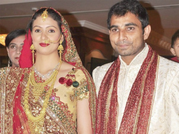 Image result for mohammad shami and his wife