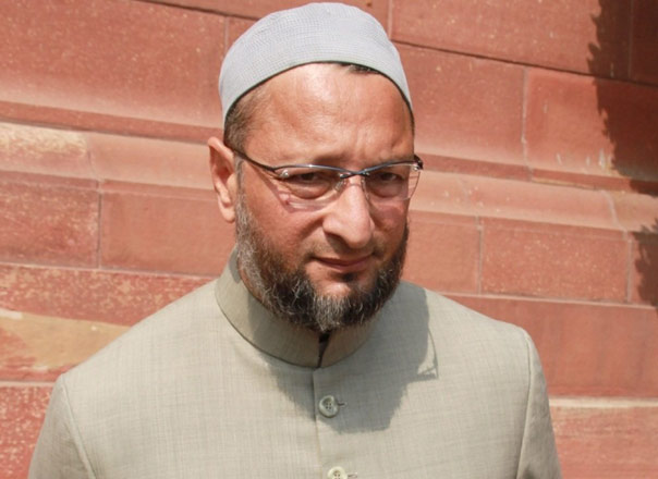 Image result for trs party supports owaisi