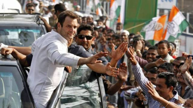 Image result for congress wins in muraina rahul gandhi