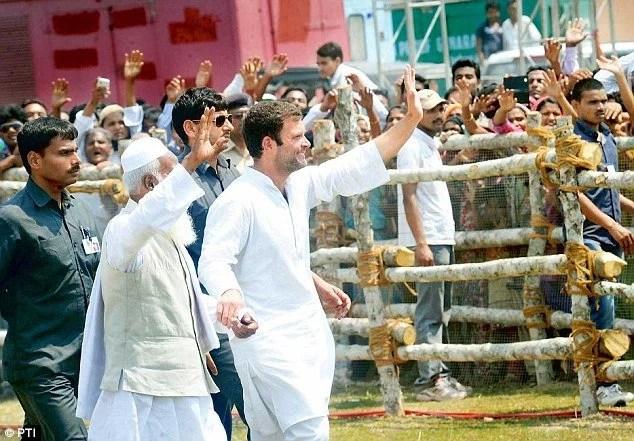 Image result for rahul gandhi in bihar