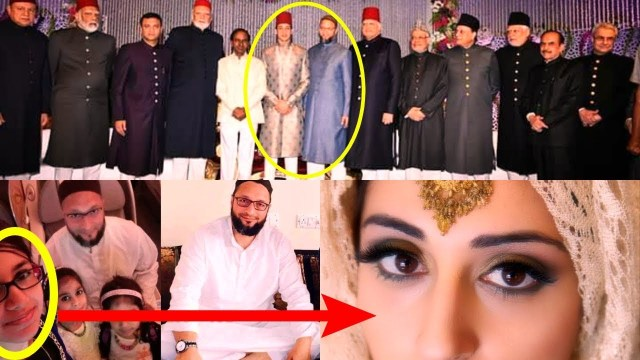 Image result for asaduddin owaisi daughter engagement
