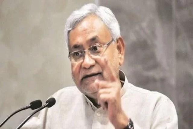 nitish kumar नीतीश कुमार targets giriraj singh