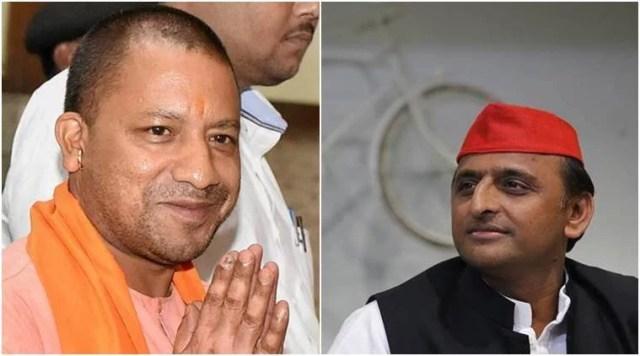 samajwadi party leads gorakhpur गोरखपुर elections