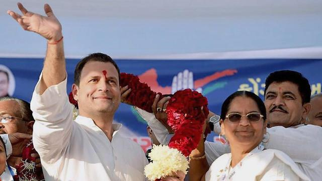 Image result for rahul gandhi very happy in public