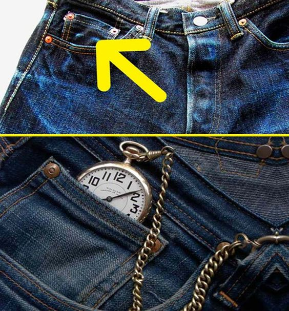 Image result for small pocket in jeans