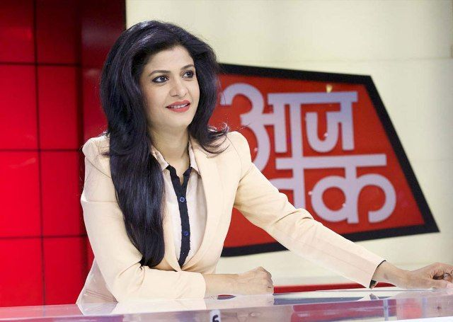 shocking thing about anjana om kashyap अंजना ओम कश्यप