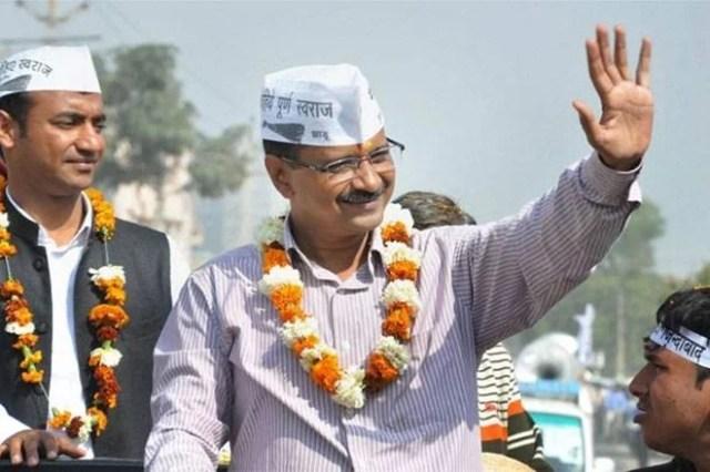 Image result for arvind kejriwal rally