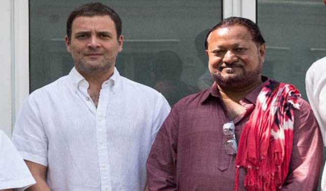 Image result for george tirkey with rahul gandhi
