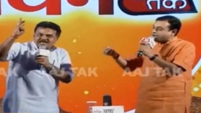 sanjay nirupam targets sambit patra संबित पात्रा