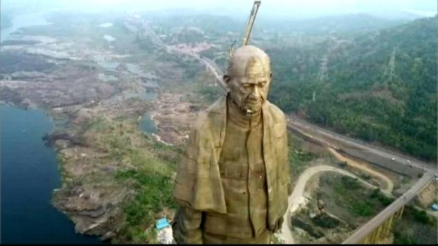 Image result for 75 thousands tribal people protest against statue of unity