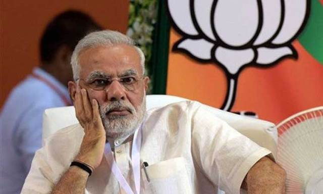 Image result for modi sad