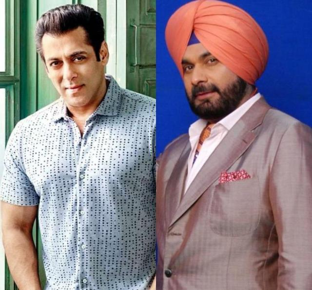 salman khan come in support of navjot singh sidhu नवजोत सिंह सिद्धू