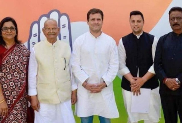 sukhram joins congress