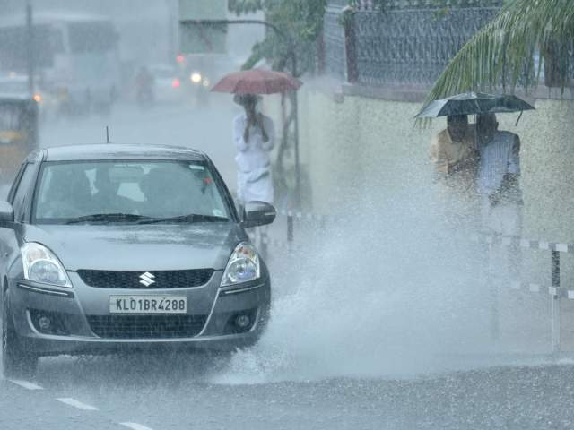 storm आंधी and heavy rain alert at eight places