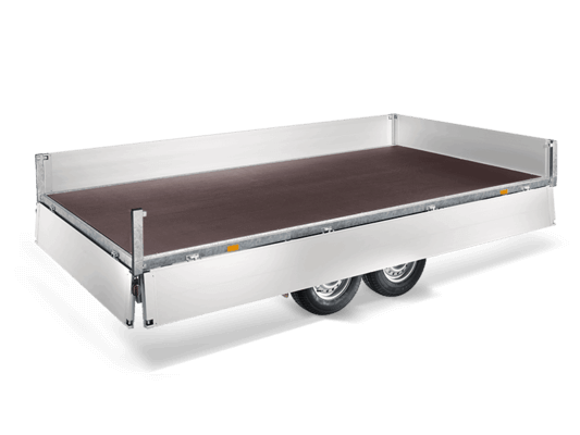Flat Deck Humbaur Trailers