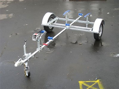 Durable Single Axle Boat Trailers