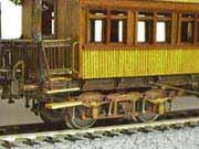 Tran 社 木造客車 クローズアップ