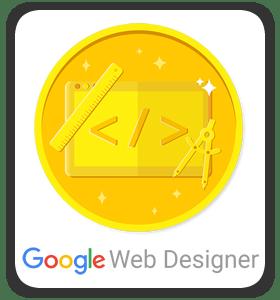Google Web Designer Achievement