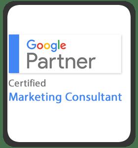 Google Partner - Certified Marketing Consultant