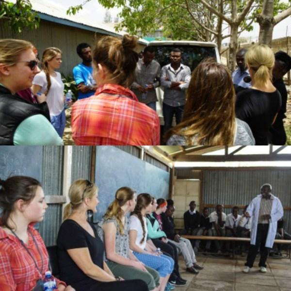 Minneapolis girls in Kenya
