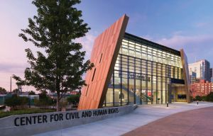 Exterior image of the Center for Civil and Human Rights