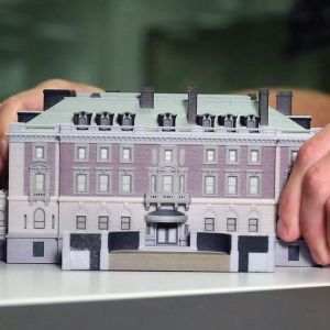 The Cooper Hewitt, Smithsonian Design Museum encourages users to download free 3D scan data of its building (the former mansion of Andrew Carnegie) for remix and reuse.