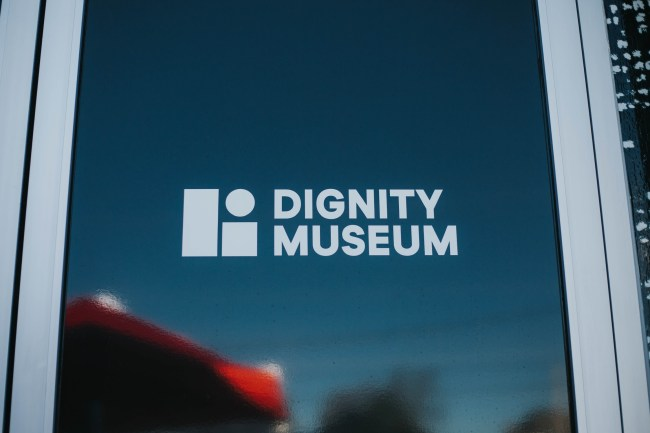 The logo for Dignity Museum