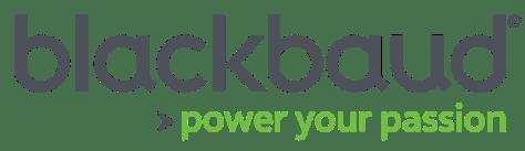 logo: Blackbaud: Power Your Passion
