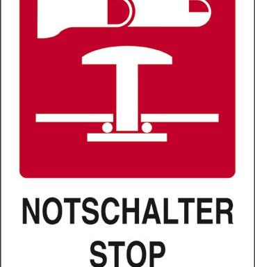 NOTSCHALTER STOP DI EMERGENZA