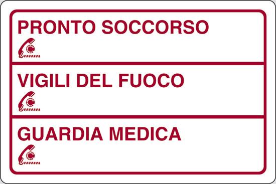 PRONTO SOCCORSO_____VIGILI DEL FUOCO_____GUARDIA MEDICA_____