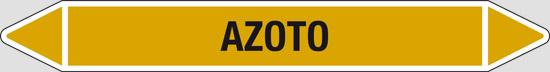 AZOTO (gas allo stato gassoso o liquefatto escluso l'aria)