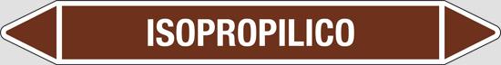 ISOPROPILICO (oli minerali, oli vegetali e oli animali, liquidi combustibili e/o infiammabili)